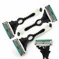 Ritmo de 6 Lâminas de Barbear Para Homens 3 Pçs/lote DORCO Barbeador Pessoal Aço Inoxidável Dos Homens de Barbear lâminas de Barbear Lâminas de Barbear de Segurança