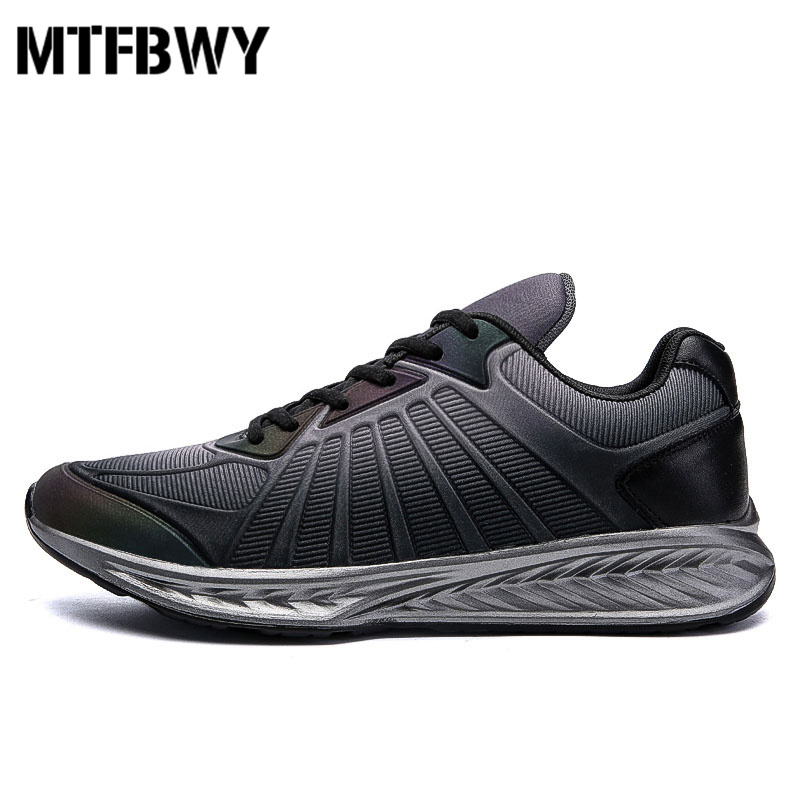 Mens running shoes new design Gradient color lace-up men sport shoes autumn outdoor men sneakers size 39-44 1761s