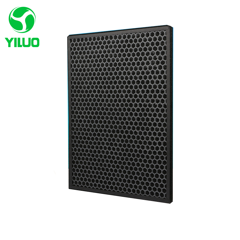 390*280*15mm high efficiency filter and activated carbon filter of air purifier parts for KJEZ200E etc цена и фото
