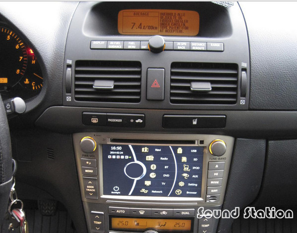buy avensis dvd gps radio for toyota avensis 2003 2008 car d. Black Bedroom Furniture Sets. Home Design Ideas