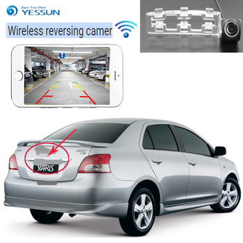 YESSUN  For TToyota Belta XP90 Limo 2010 2011 2012 CCD Night Vision Backup Camera Reverse Camera Reverse Hole