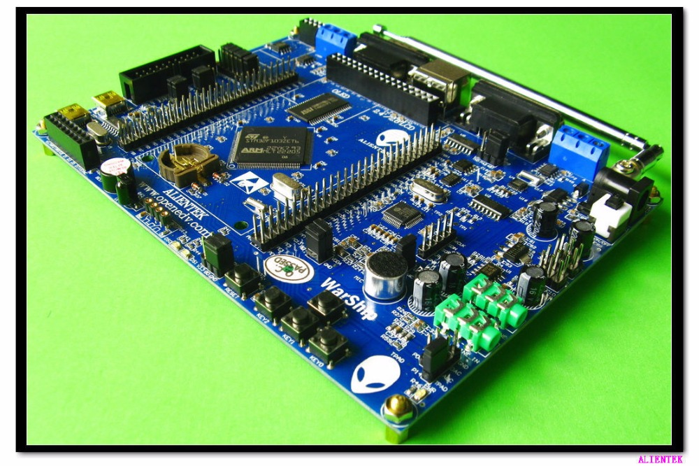 STM32F103ZET6 development board +2.8 LCD super ARM7