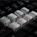 Translucidus 8 key LOL Gamer Personalized Metal  Keycaps FOR Mechanical keyboard