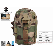 emersongear Emerson Tactical Waist bag M1 Multi-purpose Waist Bag Utility Accessory Pouch Quick Release Buckle emerson tactical combat chest recon kit bag emersongear military multi purpose utility accessories concealed carry pouch