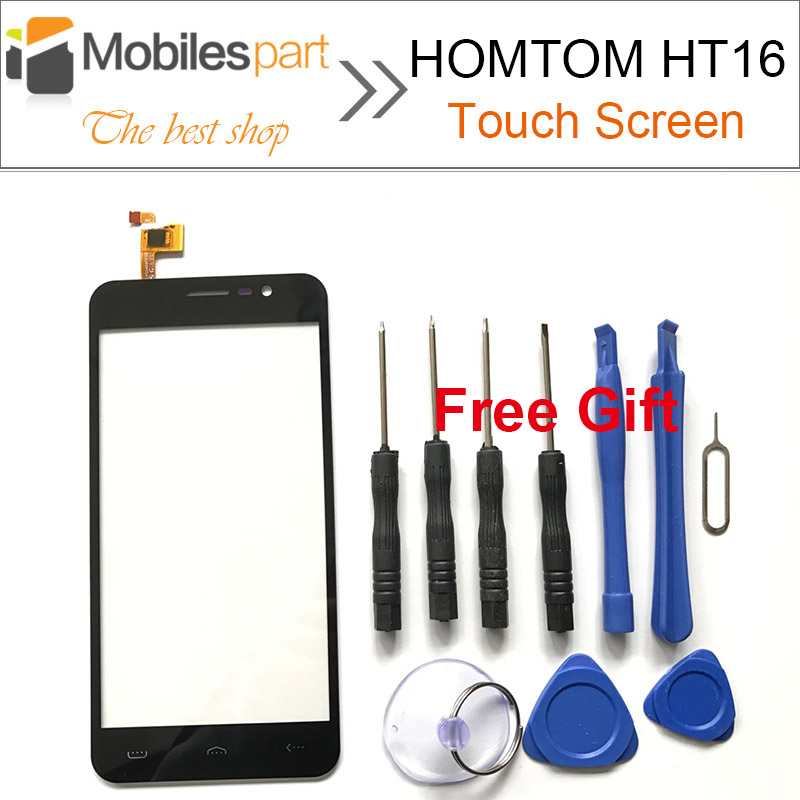 HOMTOM HT16 Pro Touch Screen 100% New Panel Digitizer Replacement Screen Touch Display for HOMTOM HT16 Smartphone