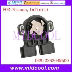 Nowy TPS czujnik położenia przepustnicy wykorzystanie OE nr. 226204M500 dla Nissan Infiniti