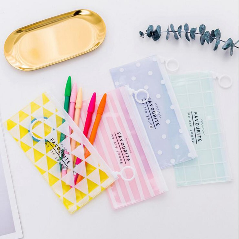 Geometric Travel Cosmetic Bags Small Fresh Casual Mini  Portable Make Up Bag Toiletry Kit Storage Pouch Beauty Make Up Bag