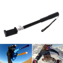 Selfie Stick Monopod Phone Lock Clip for Gopro Hero Xiaomi Xiaoyi Action Camera