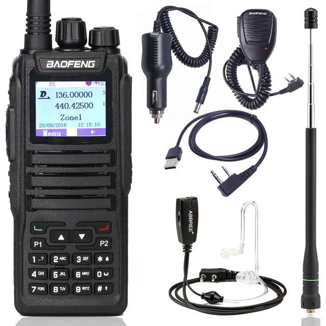 Baofeng DM 1701 דיגיטלי מכשיר קשר DMR כפולה זמן חריץ Tier1 & 2 tier ii חם CB משודרג של DM 860 נייד שתי דרך רדיו