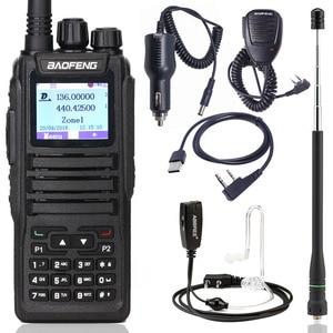 Image 1 - Baofeng DM 1701 Digital Walkie Talkie DMR Dual Time Slot Tier1&2 tier ii Ham CB upgraded of DM 860 Portable Two Way  Radio