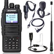 Baofeng DM 1701 dijital telsiz DMR Çift Zaman Dilimi Tier1 ve 2 tier ii Ham CB yükseltilmiş DM 860 Taşınabilir Iki Yönlü radyo