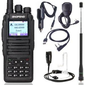 Image 1 - Baofeng DM 1701 talkie walkie numérique DMR double fente horaire Tier1 et 2 rang ii jambon CB amélioré de DM 860 Radio bidirectionnelle Portable