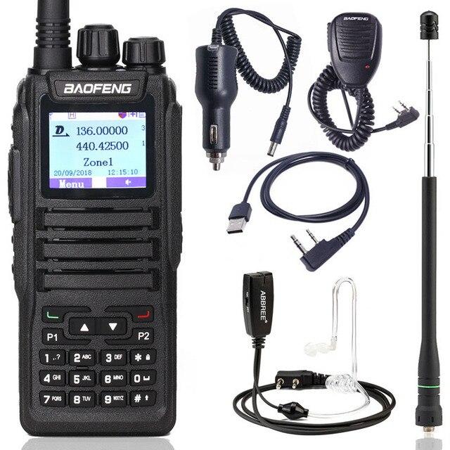 Baofeng DM 1701 talkie walkie numérique DMR double fente horaire Tier1 et 2 rang ii jambon CB amélioré de DM 860 Radio bidirectionnelle Portable