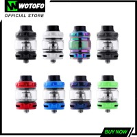 Wotofo Flow Pro SubTank 510 Atomizer Vape Tank 4ml 25mm with Coils for Wotofo Flux Kit Electronic Cigarette (presales)