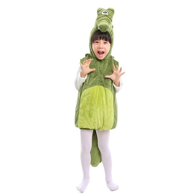 kleinkind kind nette krokodil kostum baby marine tier kostume kinder krokodil weste