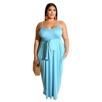 2019 Plus Size Maxi Dress  L - 4XL 2