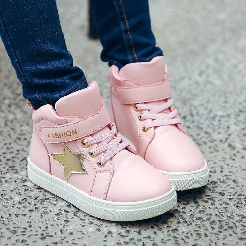 sapatos 2019 nova primavera das criancas linda princesa sapatos das meninas das criancas de lazer da