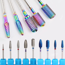 Tungsten Carbide Milling Cutter Nail Drill Bit Nail Art Tools For Electric Manicure Drill Machine Accessory Remove Gel Polish недорого