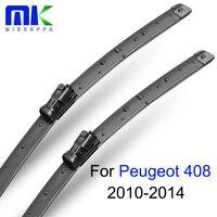 Mikkuppa Wiper Blades For Peugeot 408 2010 2011 2012 2013 2014 Pair 30 26 R Windshield