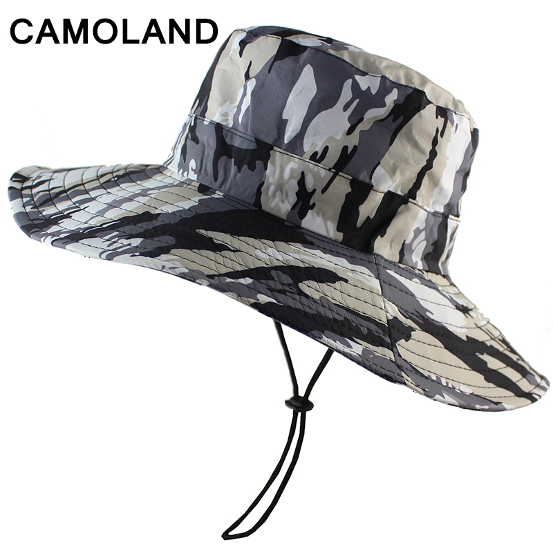 Waterproof Camouflage Boonie Hat Military Bucket Hunting