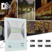 Proyector de luz led ip65, reflector de iluminación exterior, 10W, 20W, 30W, 50W, 70W, 100W