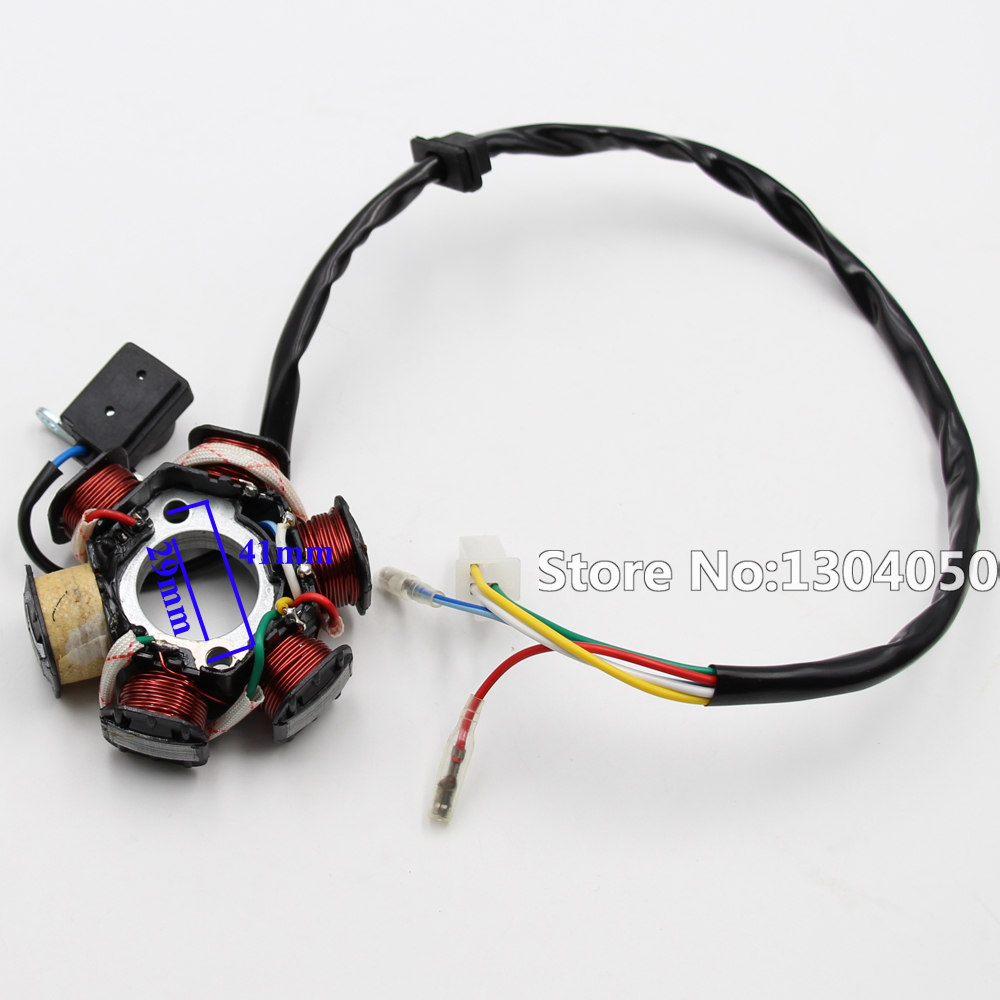 Full Electric Gy6 125 150cc Loom Magneto Stator Solenoid Atv Wiring Harness Complete 100 Brand New And High Quality Electrics All Wire Assembly For 125cc Quad Motor Parts Replacement Repair Work