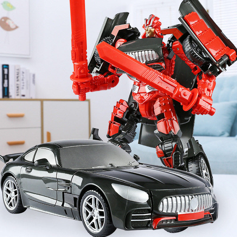 Anime Action Figure Toys Transformation Car Model Robot Classic Movie Bumblebee Optimu Prime Juguetes Education Toys Kid Gifts