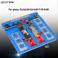 Wozniak Multifunction 9 in 1 Motherboard Repair PCB Holder Jig Fixture For IPhone 5S 6 6S 7 8p A8 A9 A10 A11 Chip Repair   Tools