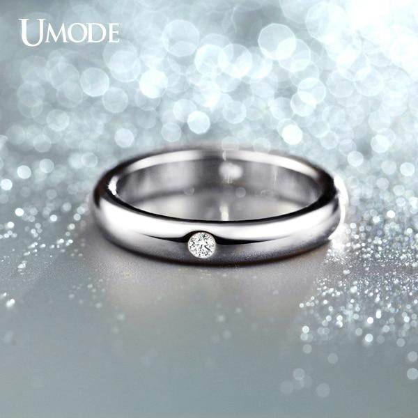 Buy UMODE Burnish 4 Pieces CZ Crystal