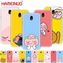 HAMEINUO Korean cartoon funny cocoa friend cover phone case for Samsung Galaxy J3 J5 J7 2017 J527 J727 J327 J330 J530 J730 PRO(China)