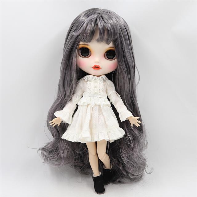 Maslynn - Premium Custom Blythe Doll با صورت خندان لباس