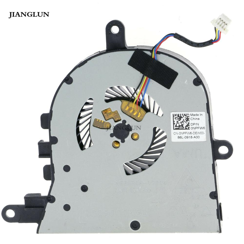 JIANGLUN New CPU Cooling Fan For <font><b>Dell</b></font> Latitude <font><b>3590</b></font> E3590&<font><b>Dell</b></font> Inspiron 15 5570 5575 image