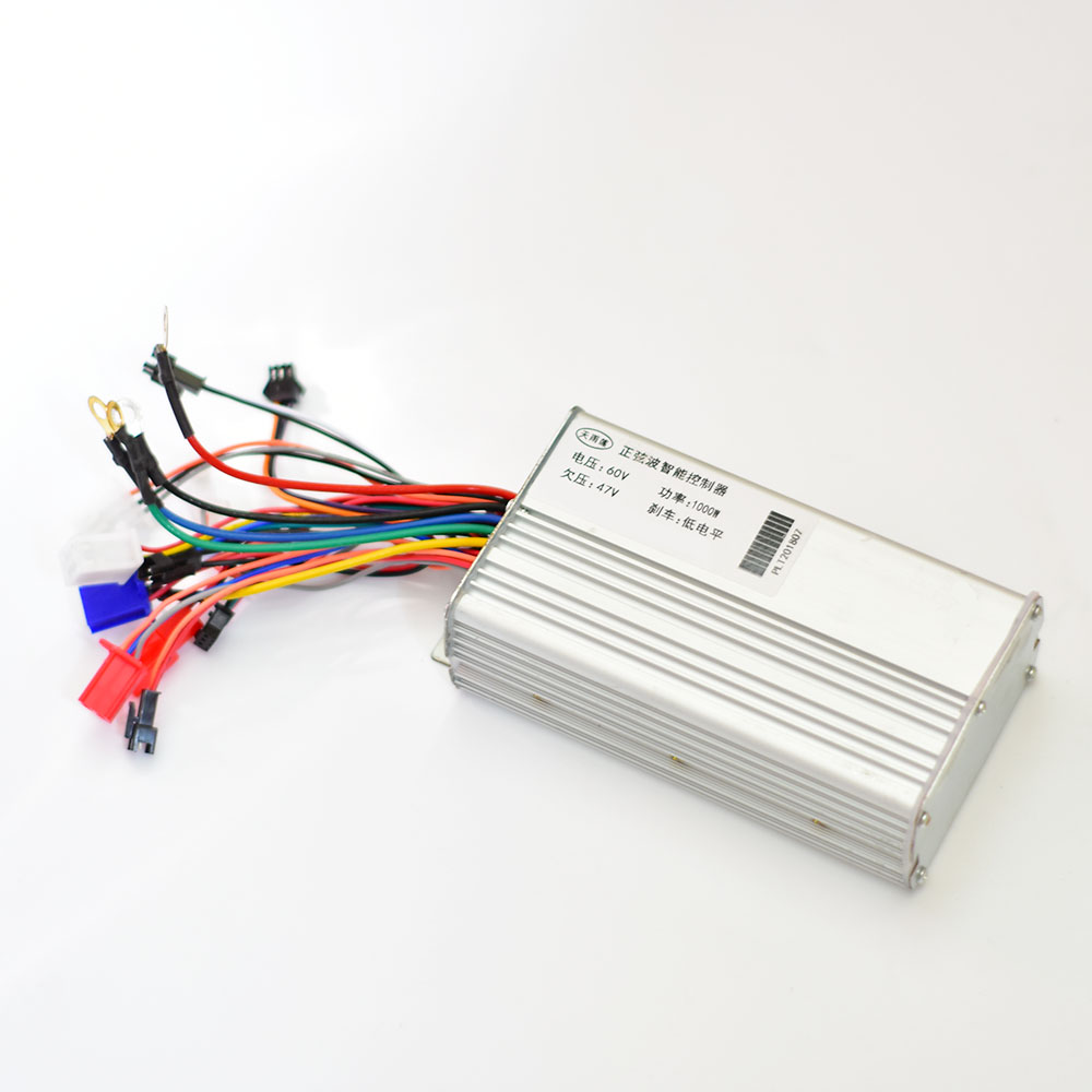 60v 1000w Motor Brush&BRUSHLESS Controller Control Unit For Electric Bike Citycoco Fat Tire Scooter Bicycle Scooter