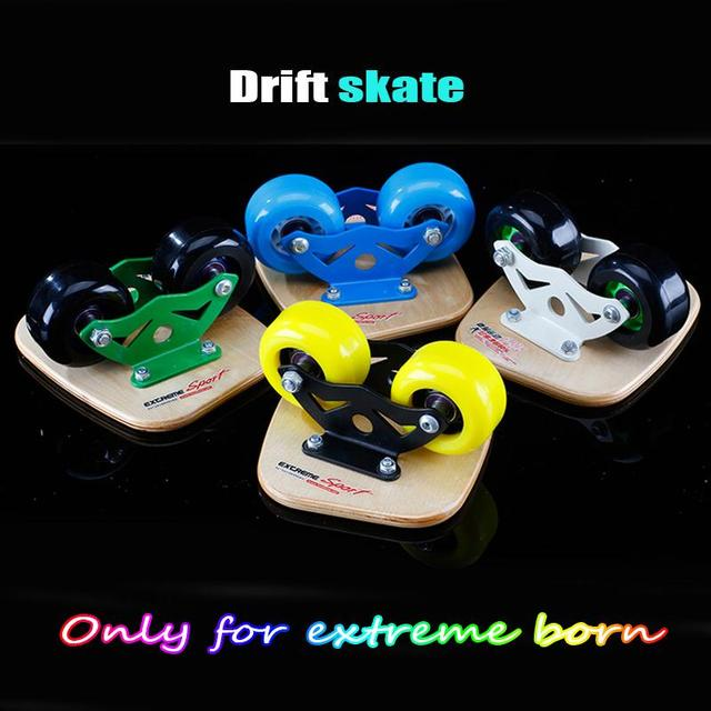 Roller Road Drift Skate Board Skate Toy Extreme Sports ABS & Maple wood Portable drift skateboard hover board Children Adult toy