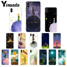 Yinuoda The Little Prince and the Fox Transparent Soft Shell Phone Cover for iPhone 8 7 6 6S Plus X XS MAX 5 5S SE XR Cellphones