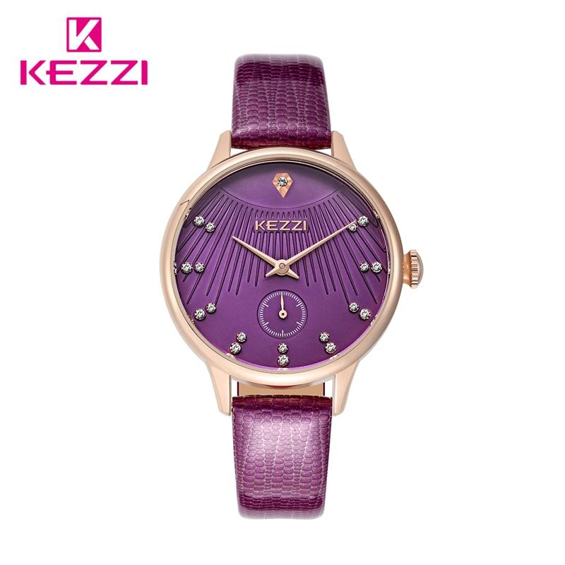 kezzi Quartz Watch Women Watches Brand Luxury 2016 Wristwatch Female Clock Wrist Watch Lady Montre Femme Relogio Feminino k-1379