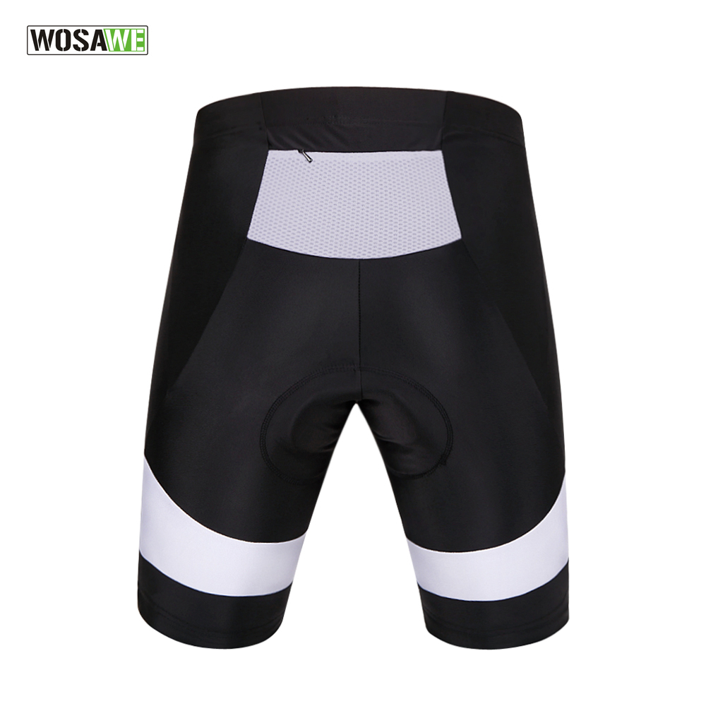 WOSAWE Men s 3D Padded Cycling Shorts Shockproof MTB Road Bike Shorts  Reflective Bicycle Short Pants Bermuda Ciclismo Shorts-in Cycling Shorts  from Sports ... b4ac24a05