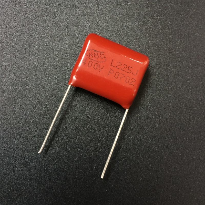 20PCS CBB21 205J 400V 2UF 2000NF P20 Metallized Film Capacitor
