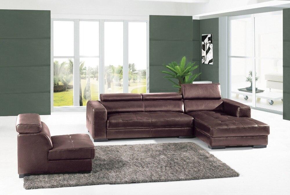 Dermal sofa højkvalitets lædersofa 2015 nye stue sofasektionelle - Møbel - Foto 2