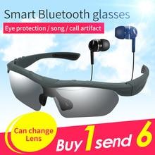 Жан-jin Bluetooth очки солнцезащитные очки гарнитура Bluetooth LK-88 Умные очки вызова + Музыка для смартфонов вождения автомобилей велосипеды