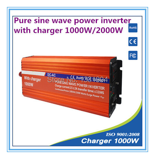 12v To 220v 1000w Pure Sine Wave Power Inverter With