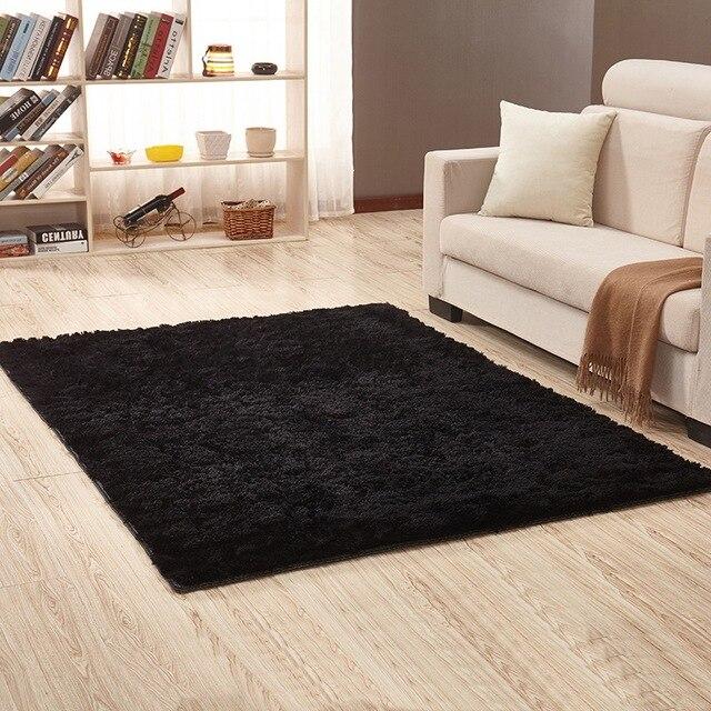 Wohnzimmer Teppich Stilvolle Beige Einfarbig Weich Und Bequem