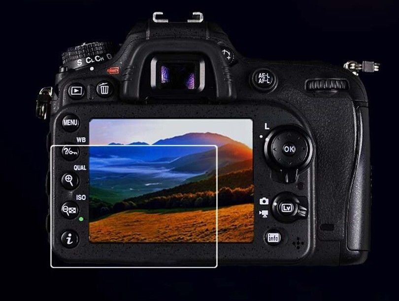 Tempered Glass LCD Screen Protector for <font><b>Canon</b></font> Powershot SX60 HS / <font><b>SX60HS</b></font> Digital Camera image