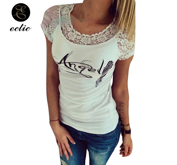 46bd887b3b Detail Feedback Questions about Angel Tshirt Vetement Femme 2019 ...