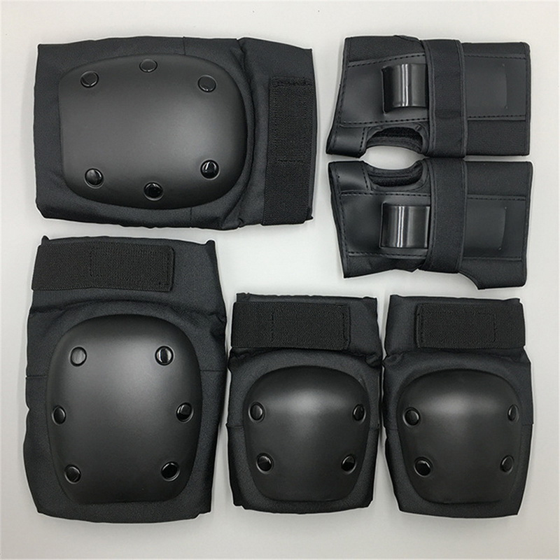 Elbow & Knee Pads 6 PCS Set Child Youth Adults Safety Protective ...