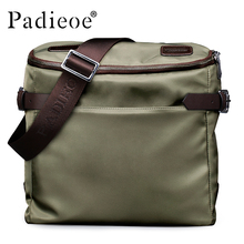 Padieoe New Fashion Men Messenger Bags Business Men Shoulder Bags High Quality Casual Canvas Bags for