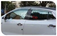 Window Visor Vent Sun Rain Guard Shield 4pcs Set For Vauxhall Opel Mokka 2013 2014 2015