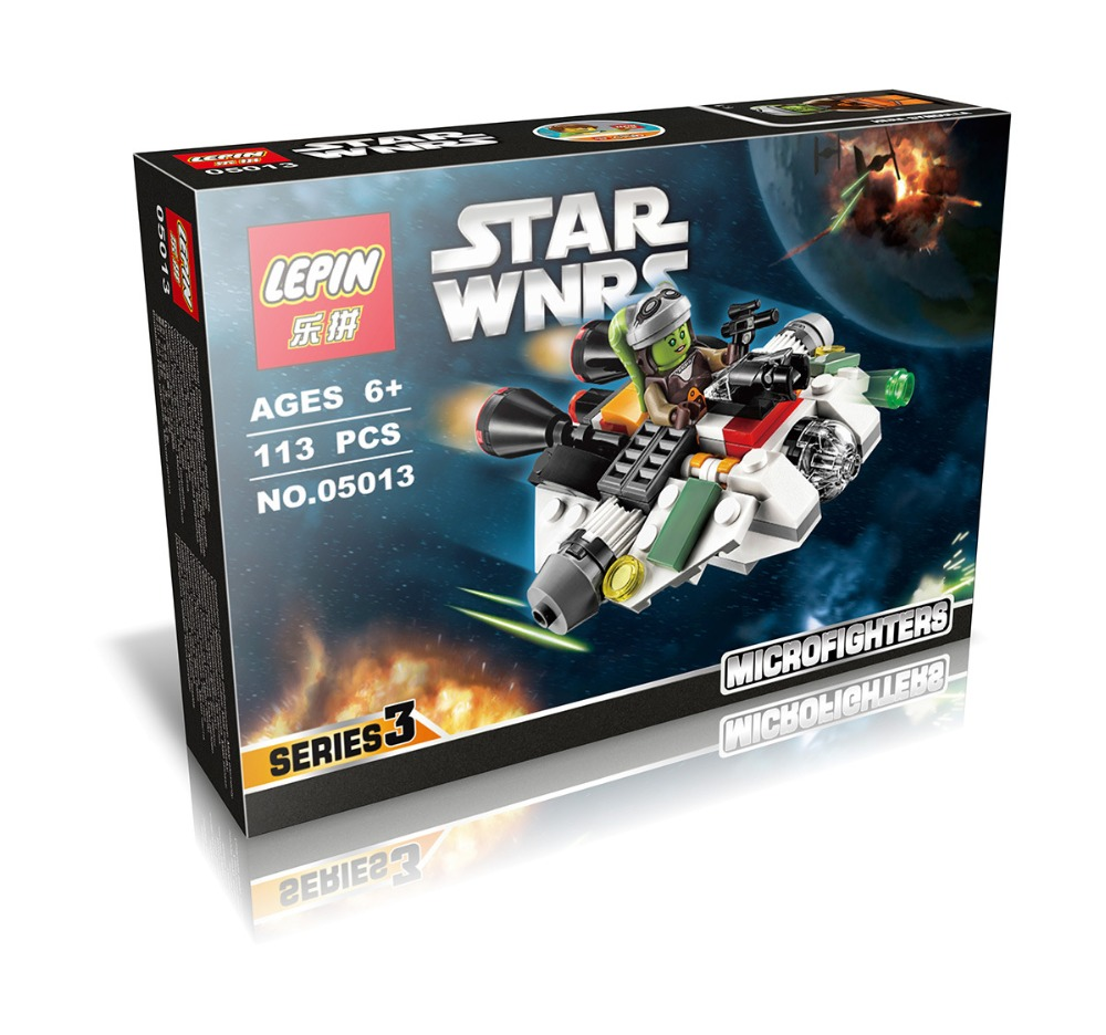 LEPIN 05013 Star Wars Frist Order Ghost Ship Micro Fighters Minifigures Building Block Minifigure Toys Compatible