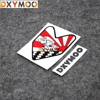 1PCS Japan JDM Car Stickers Motorcycle Helmet Vinyl Decals Auto Exterior Decoration Bumpers for Super Mario 10x9cm