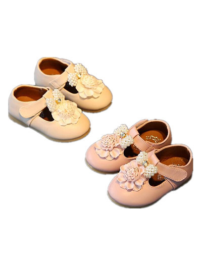 BABY WOW Toddler Shoes Baby Girl Soft Leather Shoes for 0-3T Kids Clothing Birthday Party Wedding  90225
